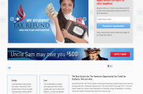 My Student Tax Refund Website